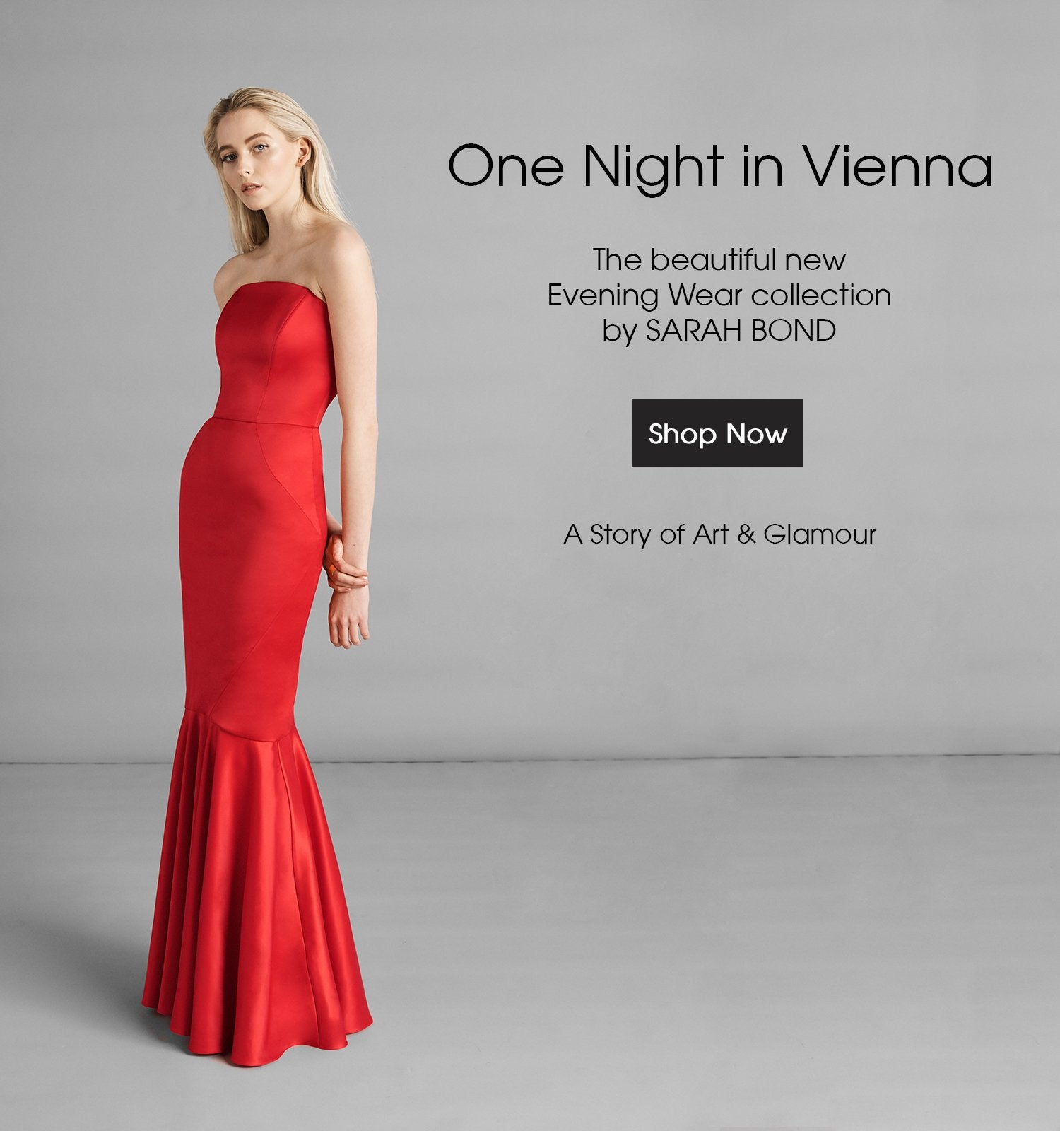 Sarah Bond Evening Wear