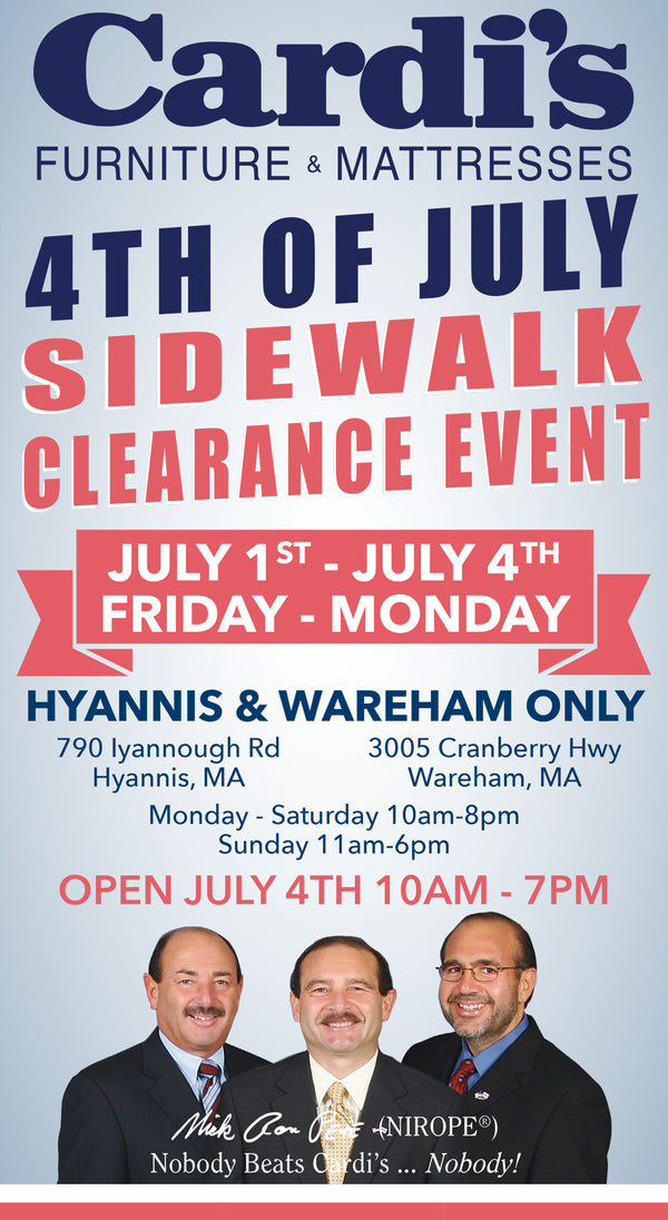 4th of July Sidewalk Clearance Event