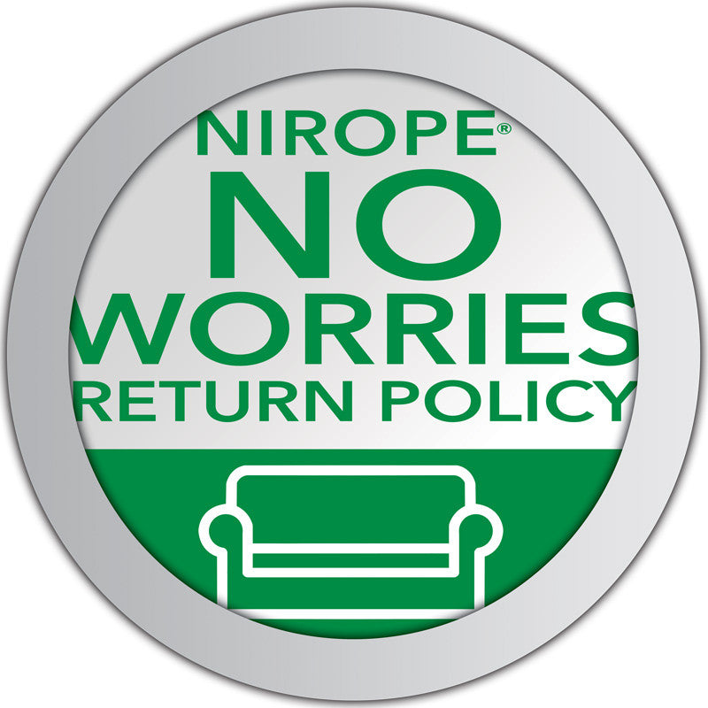 No Worries Return Policy Logo