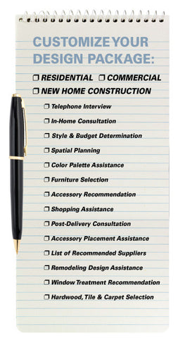 Decorating Solutions Note Pad