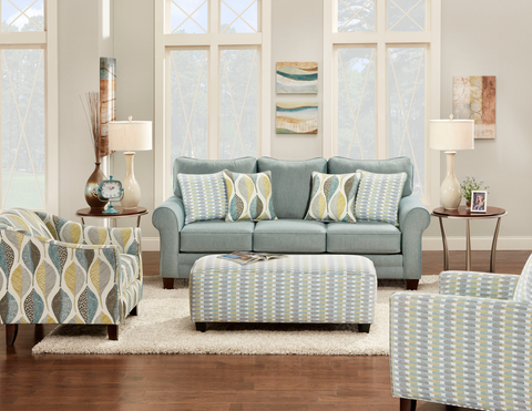 Dress your living room for spring