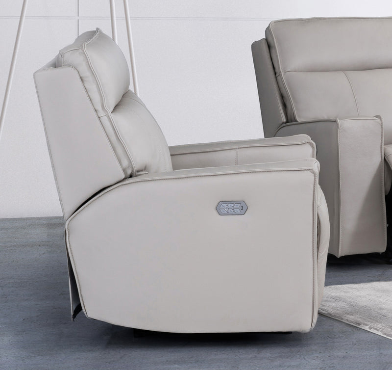 POWER RECLINER   W/PHR/LUMB