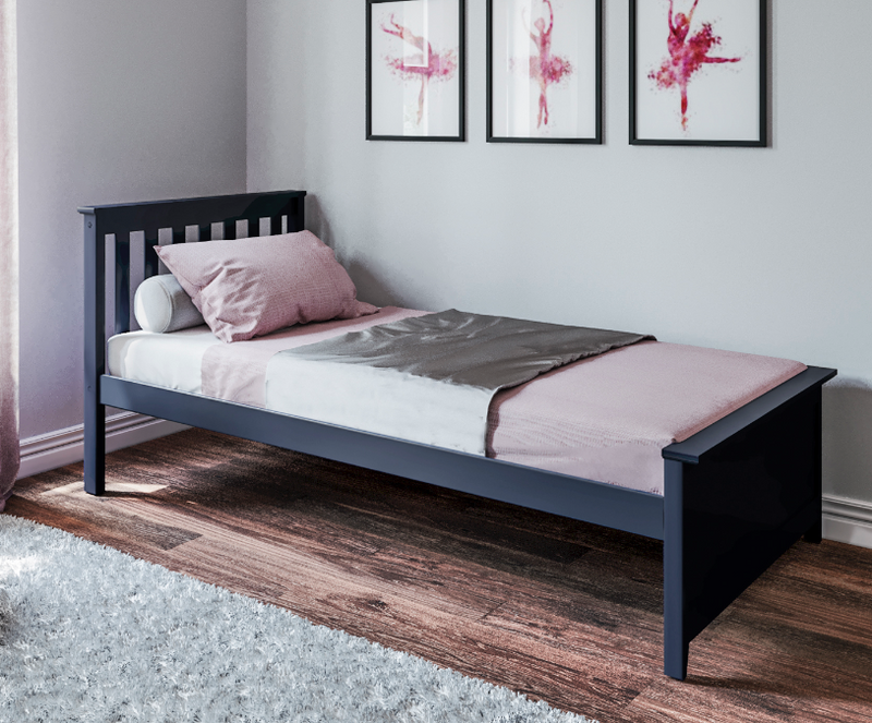 TWIN BED                  BLUE