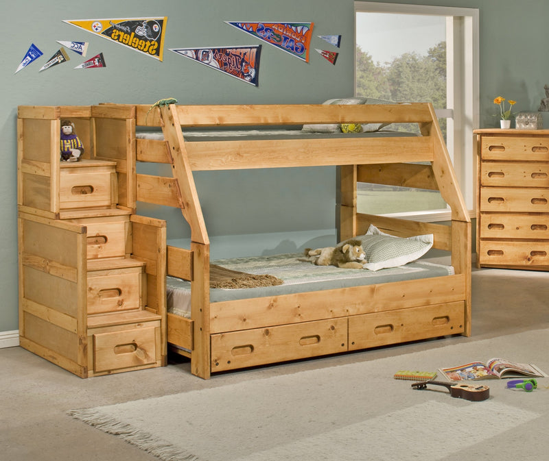 T/F BUNKBED       W/STAIRS