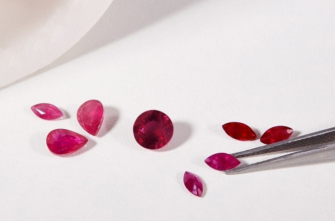 red ruby ring gift for man