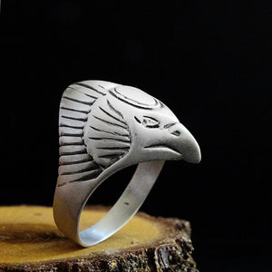 Egypt Egle Sterling Silver Mens Gothic Ring Jewellery