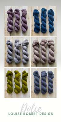 brushed cashmere hand-dyed yarn