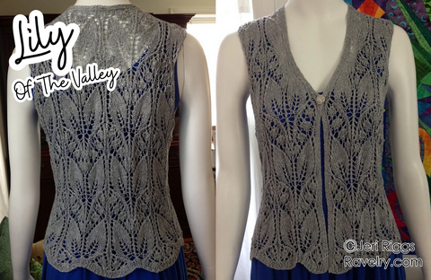 Lily of The valley Vest by Jeri Riggs