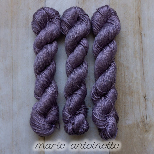 MARIE ANTOINETTE by Louise Robert Design | ALGUA MARINA hand-dyed semi-solid yarn