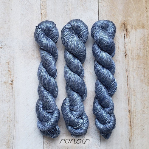 RENOIR by Louise Robert Design | ALGUA MARINA hand-dyed semi-solid yarn