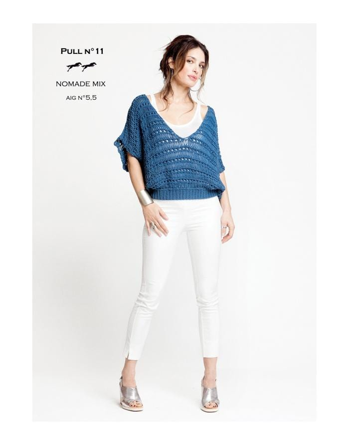 Patron Cheval Blanc Catalogue 27-11 - Pull