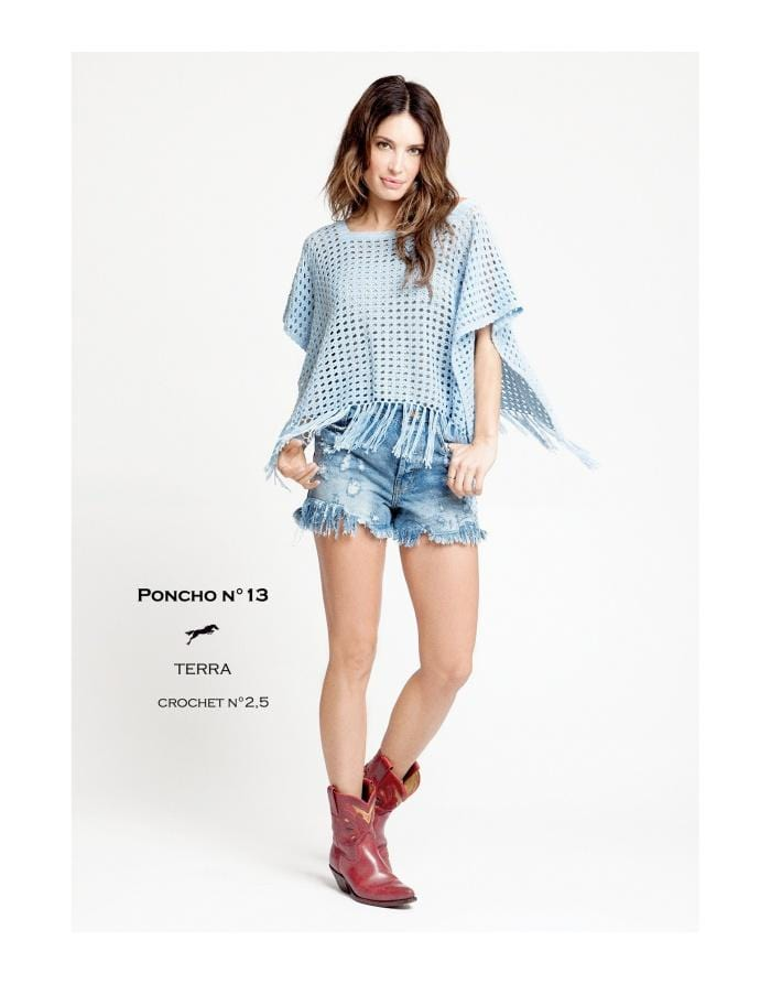 Patron Cheval Blanc Catalogue 27-13 - Poncho