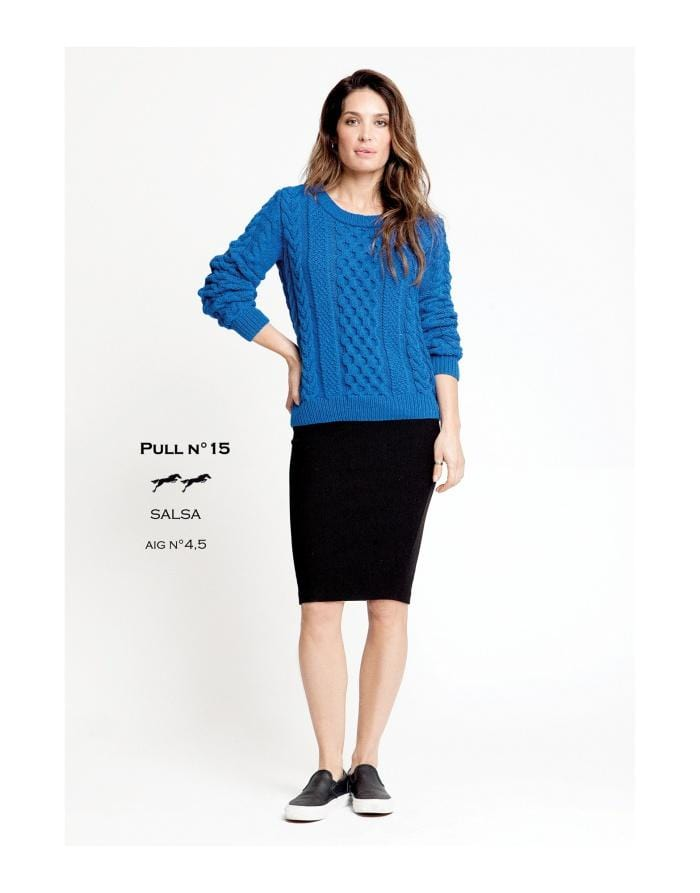 Patron Cheval Blanc Catalogue 27-15 -Pull