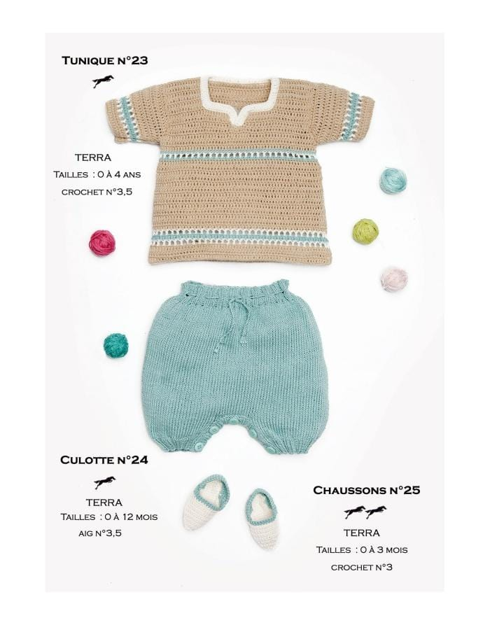 Patron Cheval Blanc Catalogue 27-24 - Culotte (Shorts)