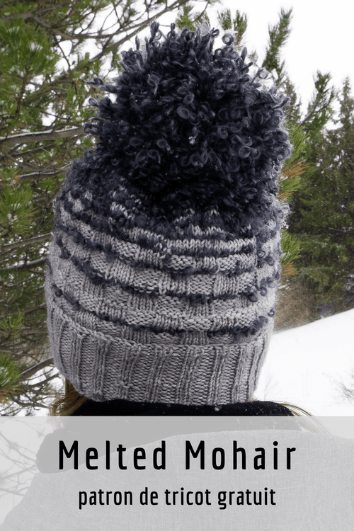 Melted Mohair Hat | Free Knitting Pattern