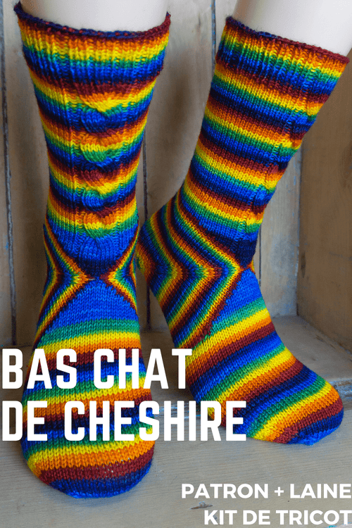 Le Chat Cheshire | Kit de Tricot