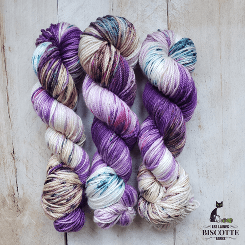 DK PURE | ORCHIDÉE hand-dyed Speckled yarn