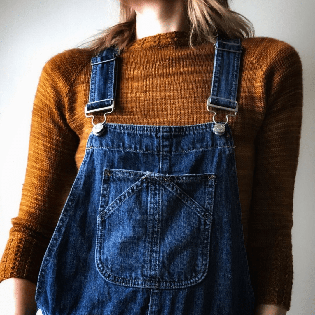 Little Cables Raglan | Free Pullover Pattern