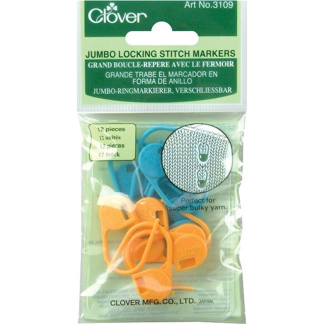 Stitch Markers Clover 3109