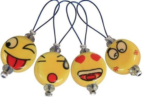 Zooni Stitch Markers - Smileys