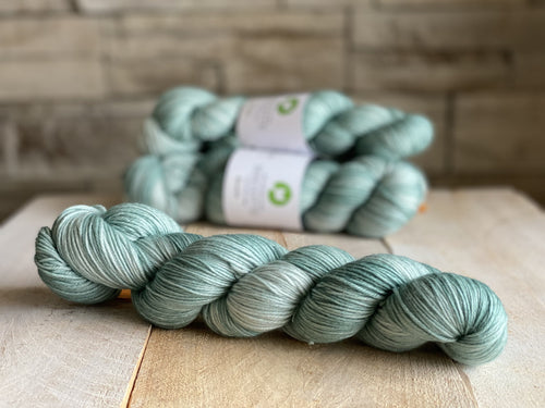 Bis-Sock yarn semi-solid Aigue Marine | 100g or 50g mini-skein
