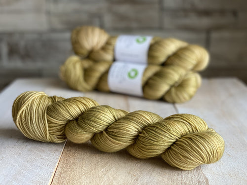 Bis-Sock yarn semi-solid Ambre | 100g or 50g mini-skein