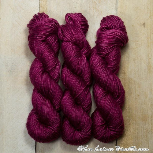 Albus - Merino & Silk Wool ♥ 1 ply knitting wool BETTERAVE