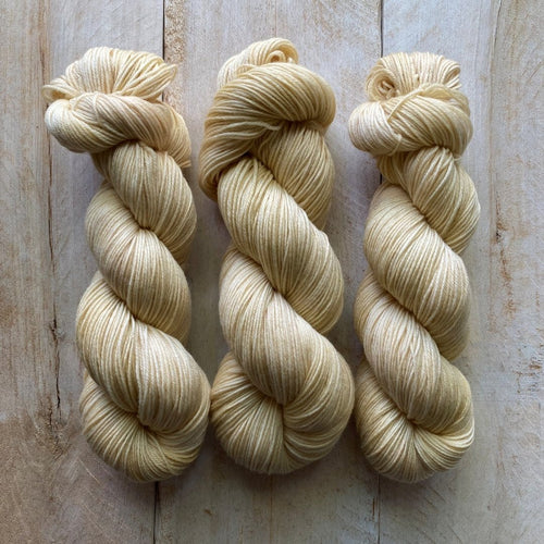 Bis-Sock yarn semi-solid Blé | 100g or 50g mini-skein