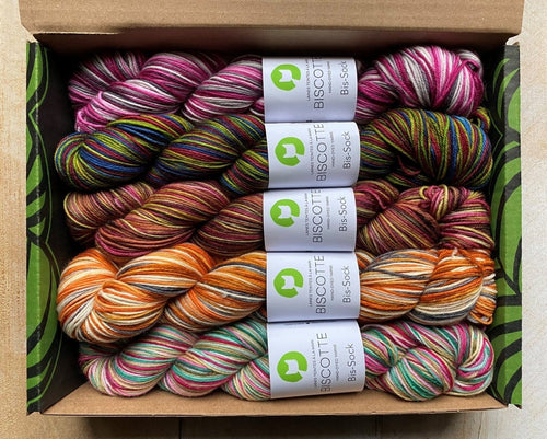 Sock knitter gift box | Knitting kit