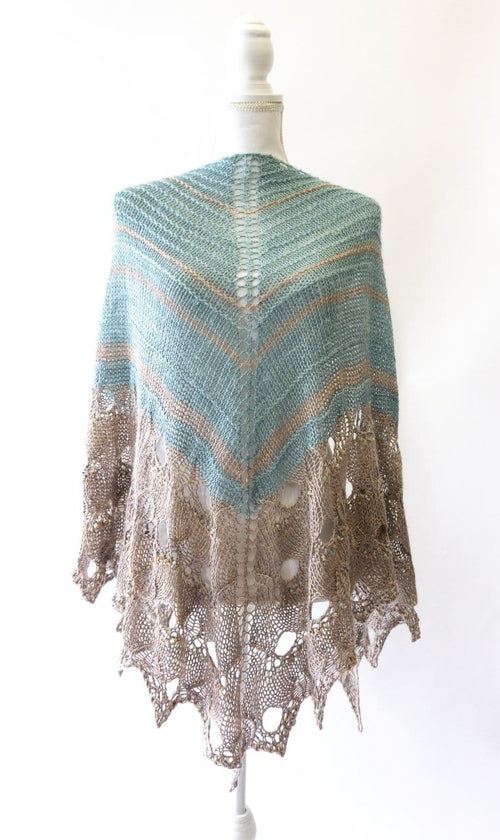 Paon d'or Shawl | Free Knitting Pattern | 2020 Edition