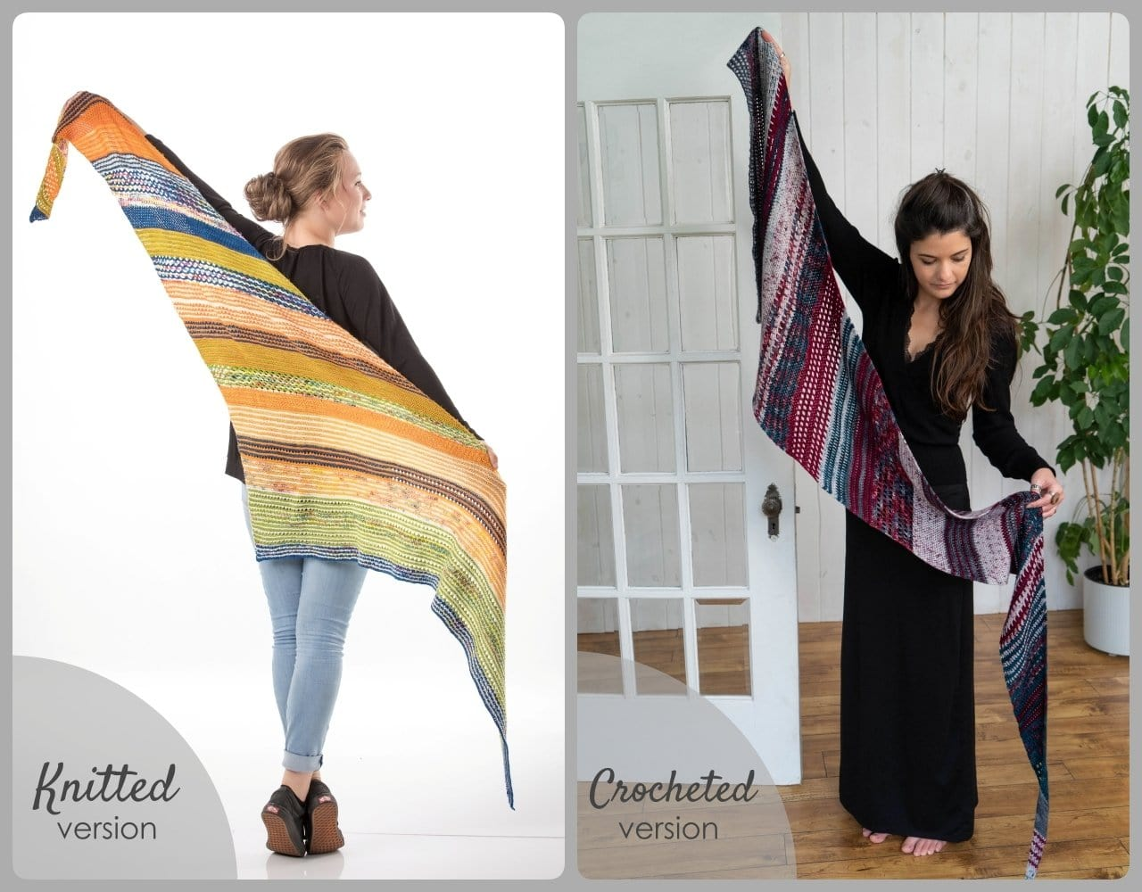 Shawl game to KNIT or CROCHET