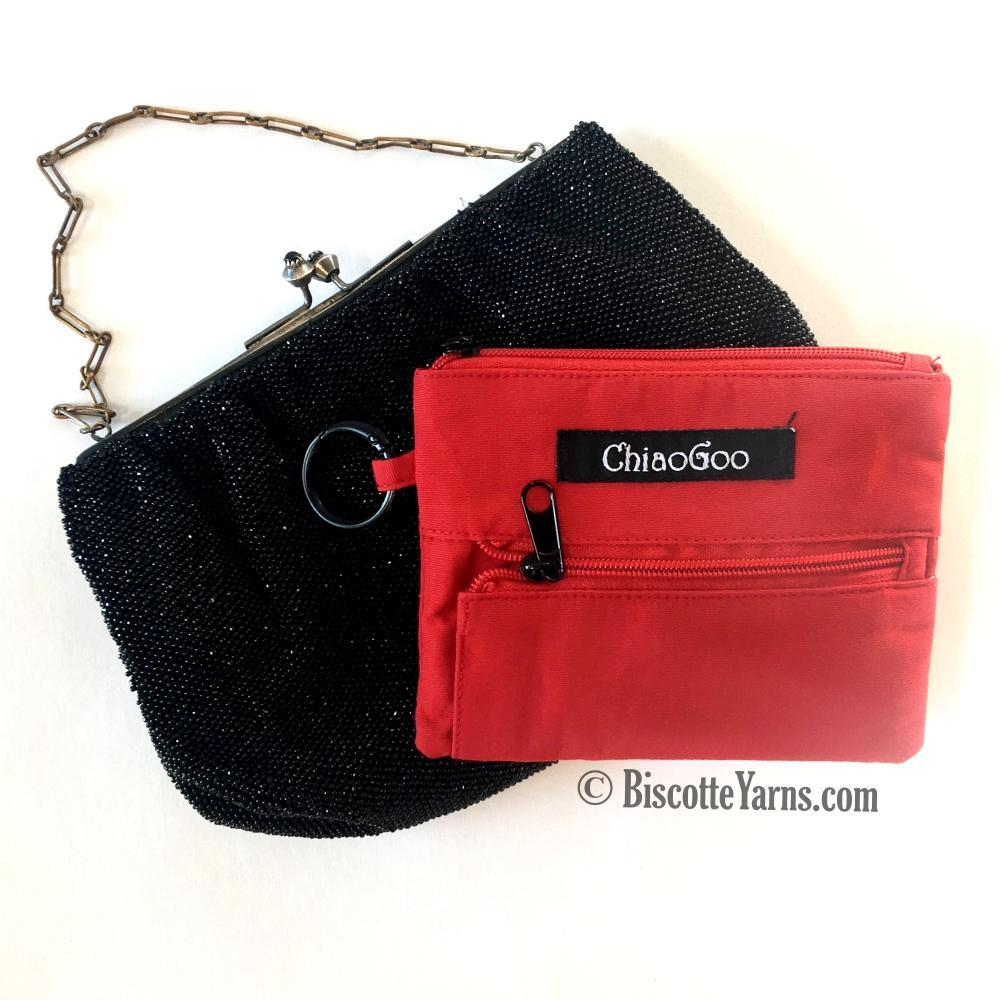 "Chiaogoo Interchangeable Twist SHORTIES RedLace 2"" & 3"" (5 & 8cm)"