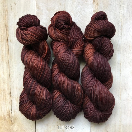 TUDORS by Louise Robert Design | DK PURE hand-dyed semi-solid yarn