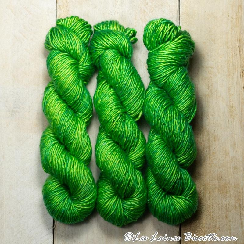 Albus - Merino & Silk Wool ♥ 1 ply knitting wool FARFADET