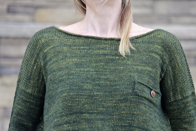 Favourite Pullover by Andrea Yetman | Knitting Pattern