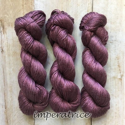 IMPÉRATRICE by Louise Robert Design | ALGUA MARINA hand-dyed Variegated yarn