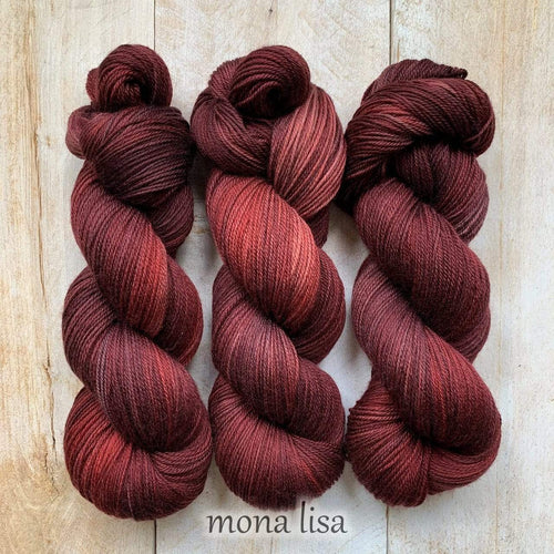 MONA LISA par Louise Robert Design | SUPER SOCK laine semi-unie