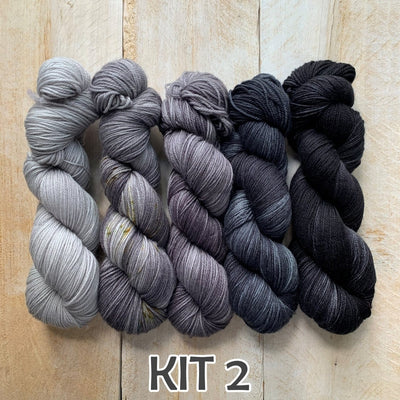 KITS pour tricoter FADING POINT de Joji Locatelli