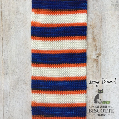 SELF-STRIPING yarn - Bis-Sock Long Island