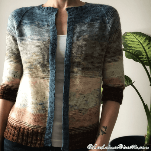 Land & Sea Cardigan - Free Pattern