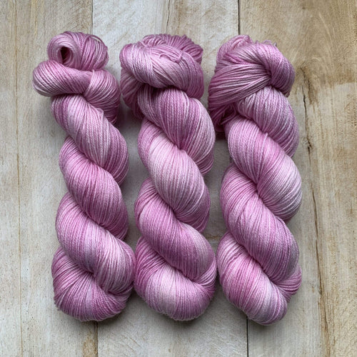 MACKINTOSH ROSES by Louise Robert Design | SUPER SOCK hand-dyed Variegated yarn