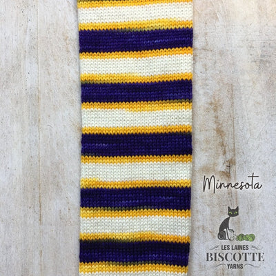 SELF-STRIPING yarn - Bis-Sock Minnesota