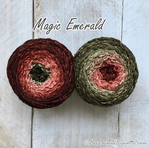 Bis-Sock Mini-Métamorph Magic Emerald | 2 X 50g