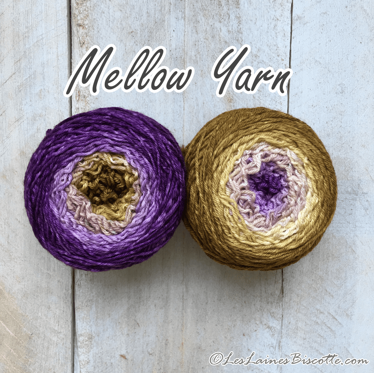 Bis-Sock Mini-Métamorph Mellow Yarn | 2 X 50g