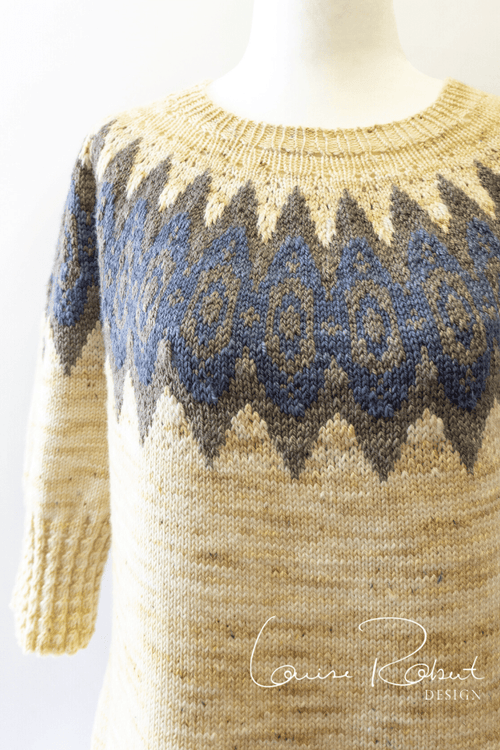Notre Dame Pullover | Knitting Pattern