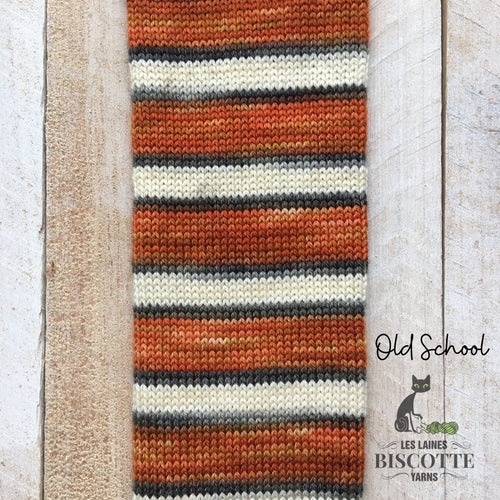 SELF-STRIPING yarn - Bis-Sock Old School