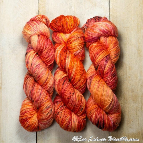 DK Pure Marmicelle Yarn - Orange Sanguine