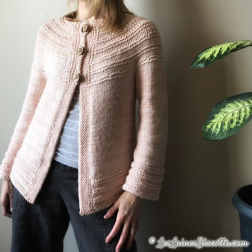 Really Ridgy Cardigan | Patron Gratuit