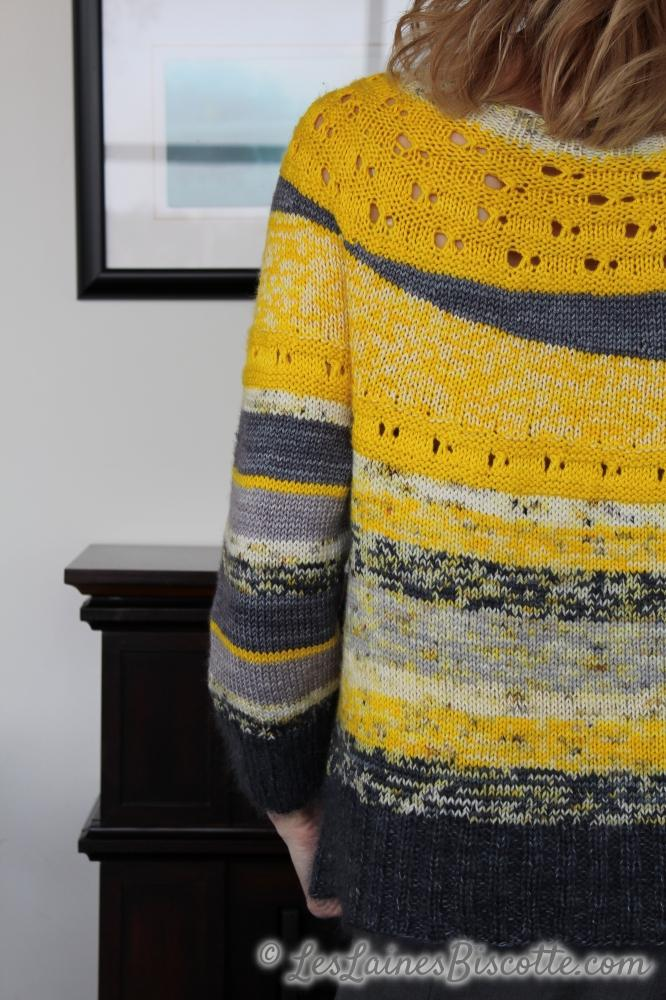 Ray of Soleil free sweater pattern