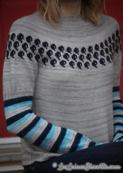 Water Logged sweater - Free Pattern